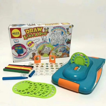 Draw Like A Pro Children Drawing Board Projector Painting