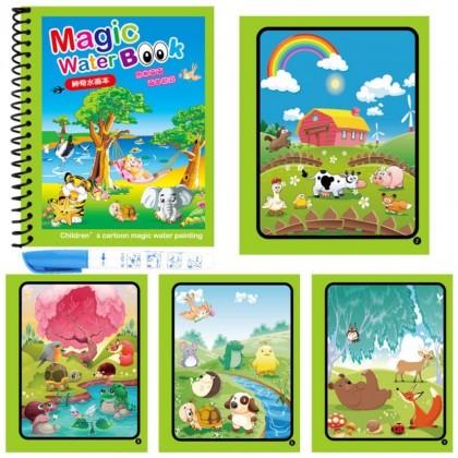 Magic Water Drawing Book